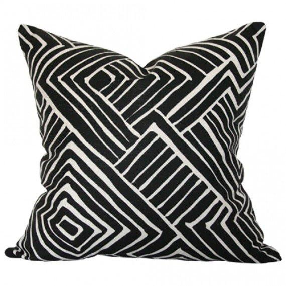 Melinda Black Custom Designer Pillow | Arianna Belle