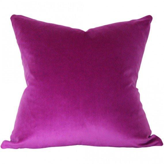 Orchid Velvet pillow