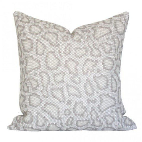 Park Avenue Python Dove pillow