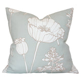 Poppyfield Seamist Custom Designer Pillow | Arianna Belle