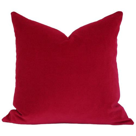 Red Velvet Custom Designer Pillow | Arianna Belle