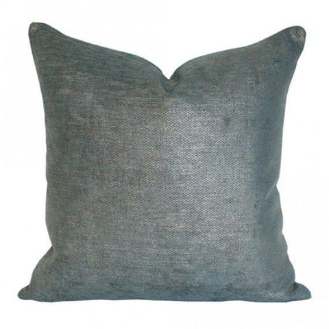 Glimmer Peacock pillow