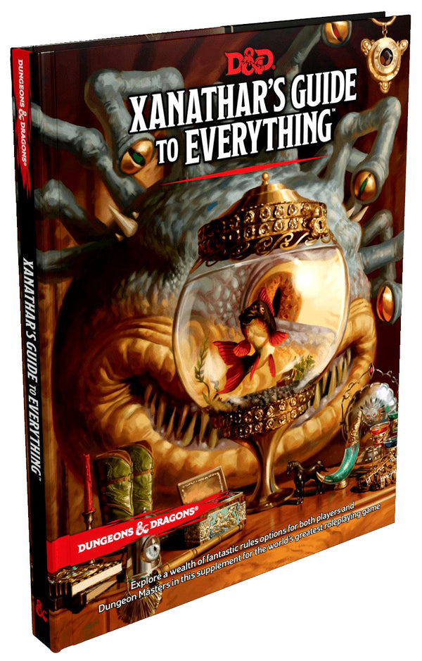 Dungeons and Dragons RPG Xanathars Guide to Everything (DnD)