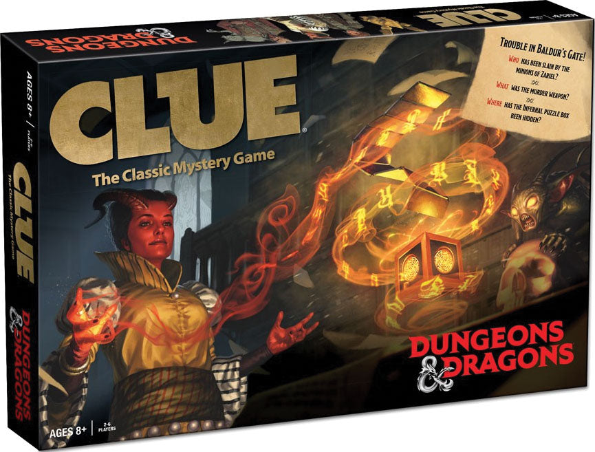 Clue Dungeons and Dragons