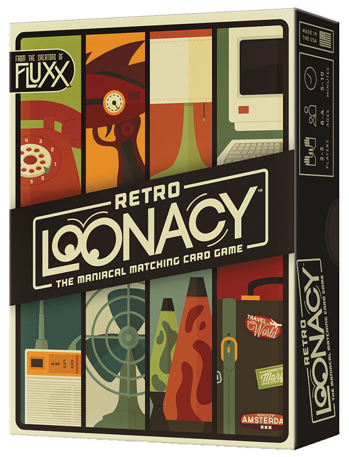 Retro Loonacy Card Game