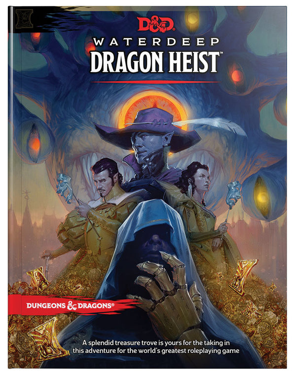Dungeons and Dragons Waterdeep Dragon Heist (DnD)