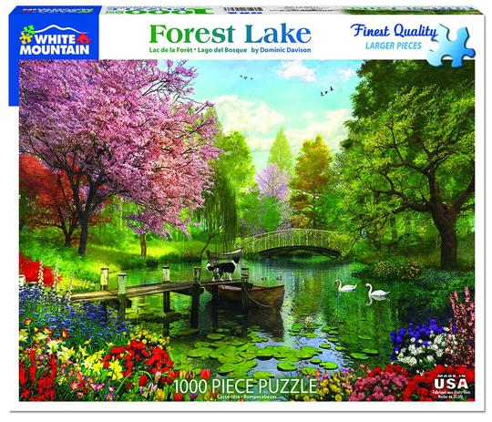 Forest Lake 1000 Piece Jigsaw Puzzle