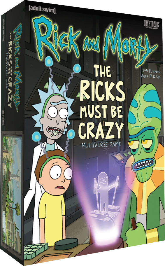 Rick and Morty The Ricks Must Be Crazy Multiverse Game