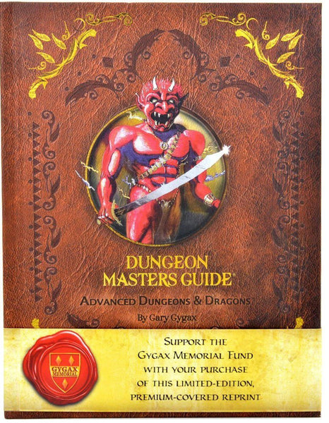 AD&D Dungeon Master's Guide, 1st Edition