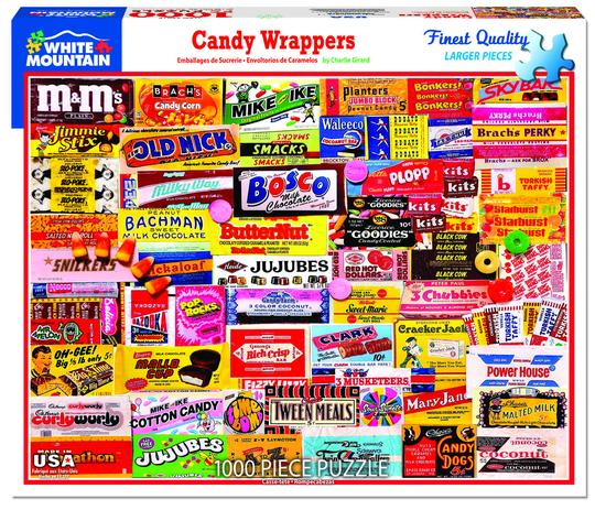 Candy Wrapper Puzzle 1000 pcs