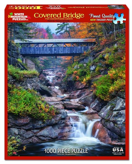 Covered Bridge 1000 Piece Jigsaw Puzzle