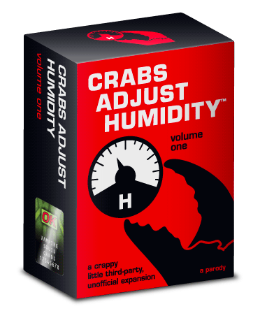 (CAH 1) CRABS ADJUST HUMIDITY - VOL 1
