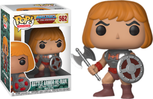 Funko Pop MOTU - He Man Battle Armor
