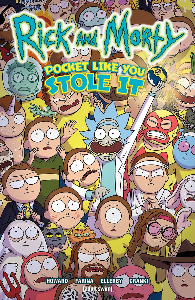 Rick and Morty Pocket Like You Stole It TPB