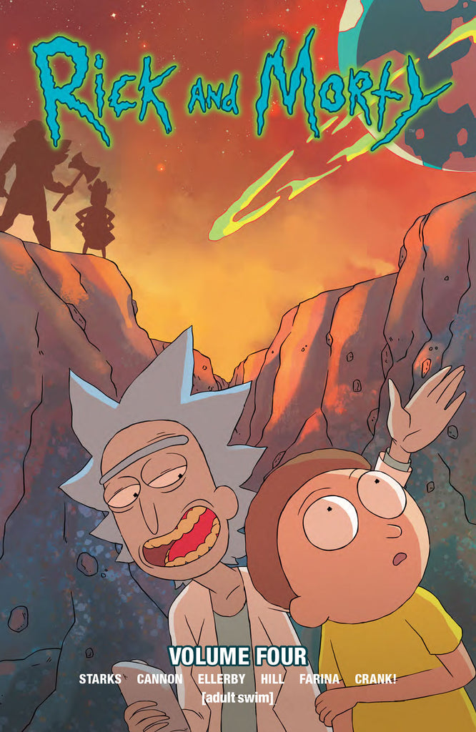 Rick and Morty Vol 4 TPB