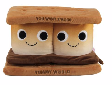 YUMMY WORLD SAMANTHA SMORE LARGE PLUSH