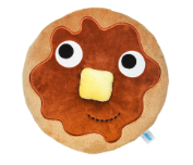 "Yummy World  ""Stacks"" Breakfast Pancake Medium Plush"