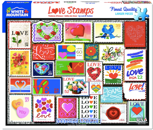 Love Stamps Puzzle 1000 pcs