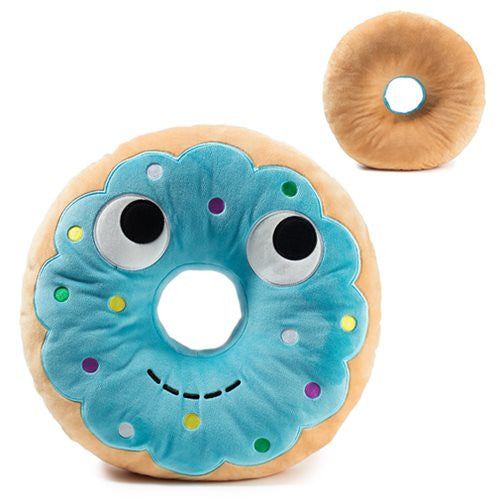 Yummy World Large Blue Donut Plush