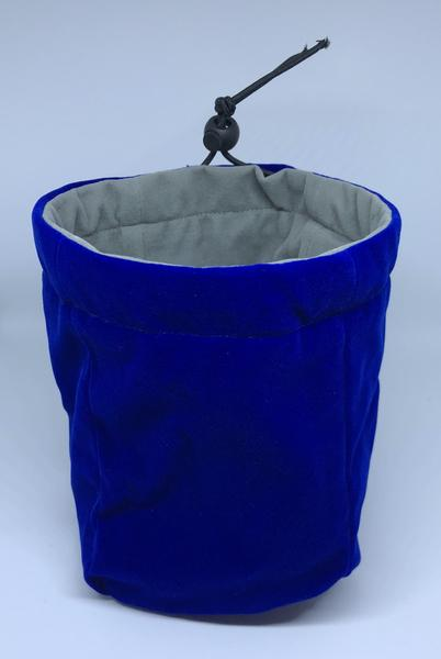Large Reversible Dice Bag, Blue Grey