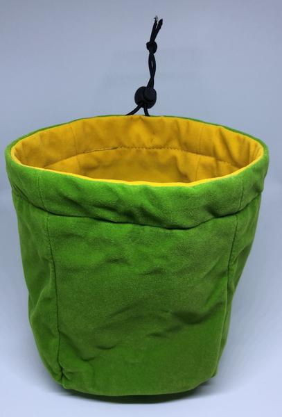 Large Reversible Dice Bag, Green Yellow