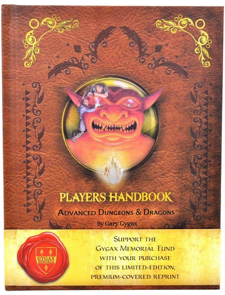 AD&D Players Handbook, 1st Edition