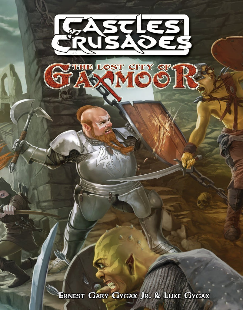 Castles and Crusades Lost City of Gaxmoor (CnC)