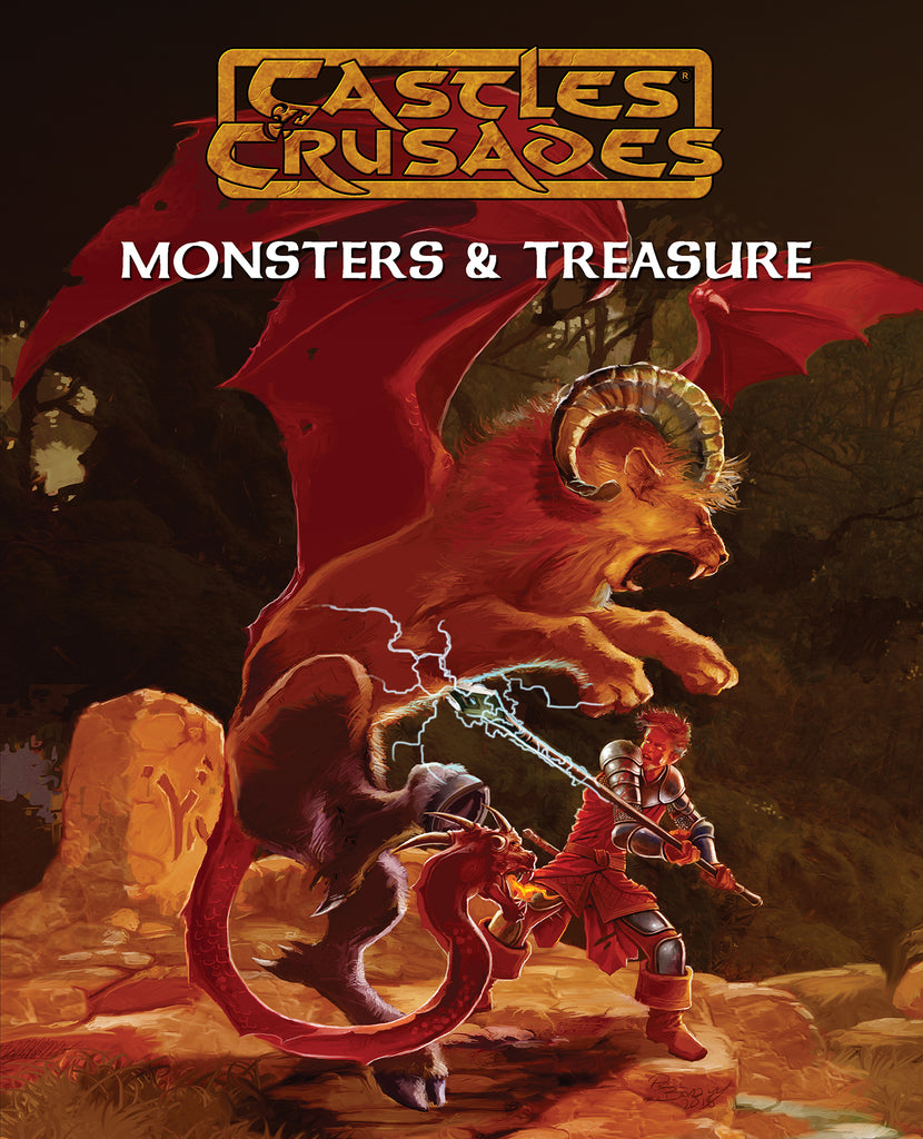 Castles and Crusades Monsters and Treasure (CnC)
