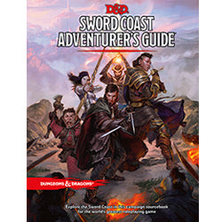Dungeons and Dragons Sword Coast Adventurers Guide (DnD)