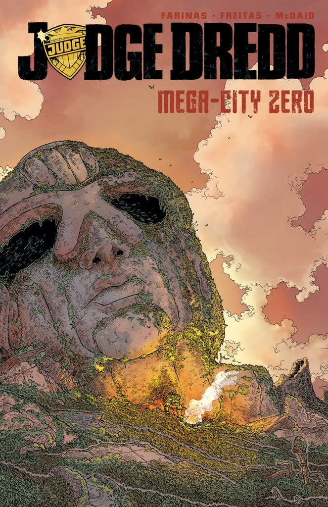 Judge Dredd Mega City Zero Vol 1