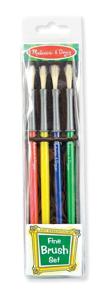 Fine Paint Brushes (set of 4)
