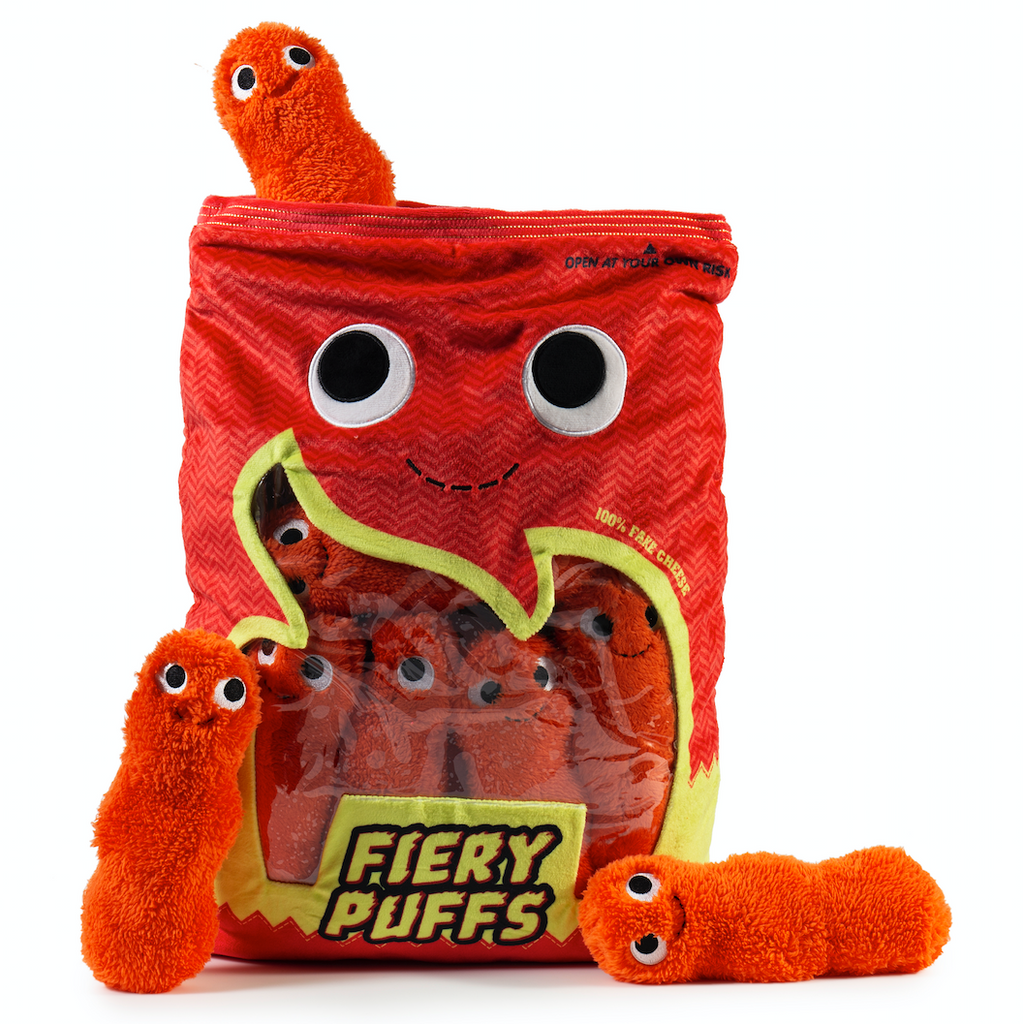 Yummy World Frye and the Fiery Puffs XL Plush