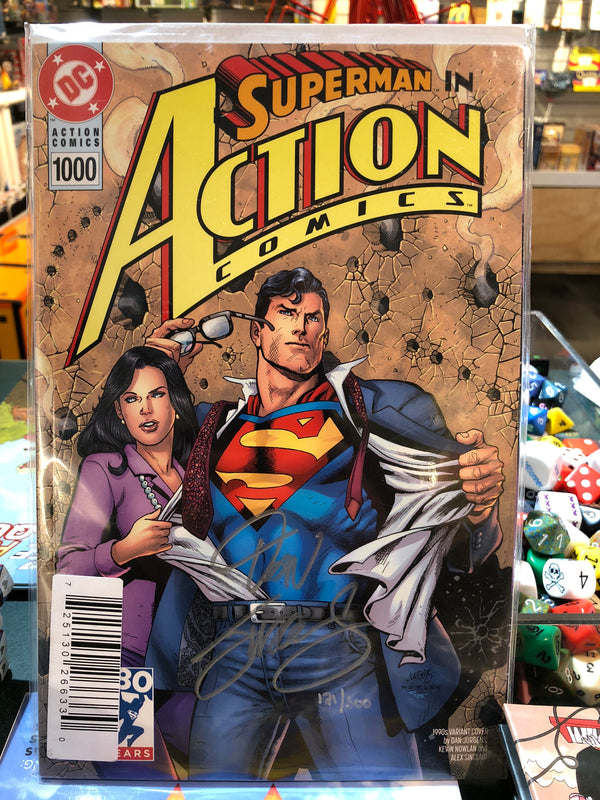 Action Comics 1000 Signed Dan Jurgens