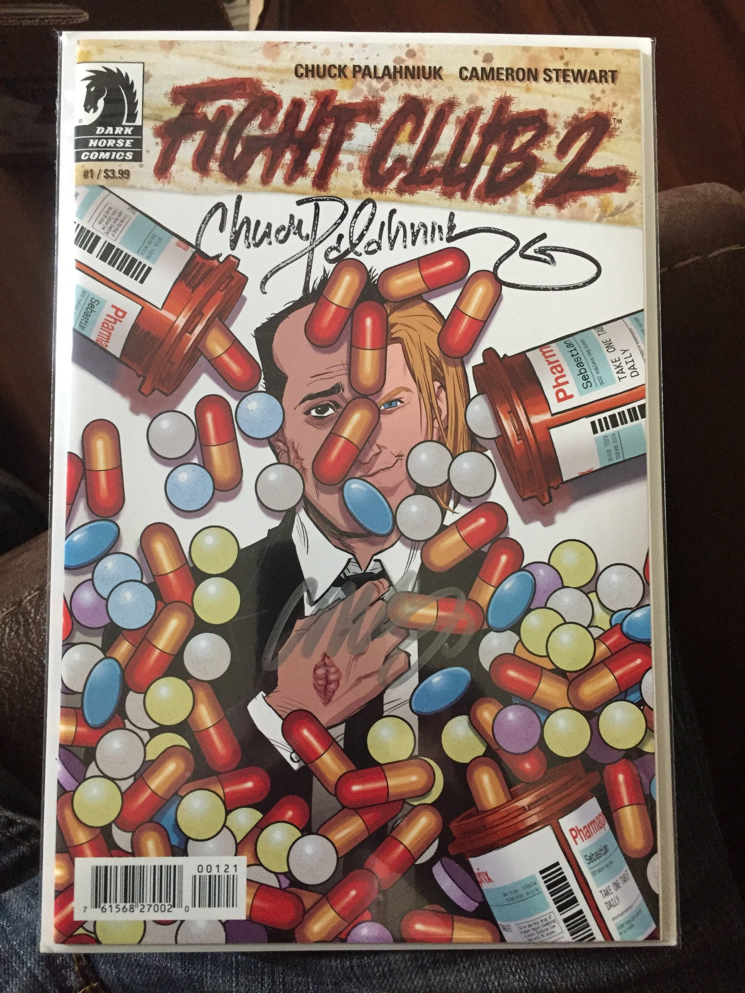 Fight Club 2 #1, Signed 2X