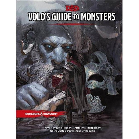 Dungeons and Dragons Volos Guide to Monsters (DnD)