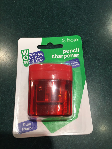 2 Hole Pencil Sharpener