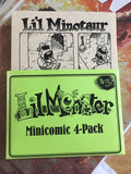 Li'l Monster Minipack 4-pack, Signed
