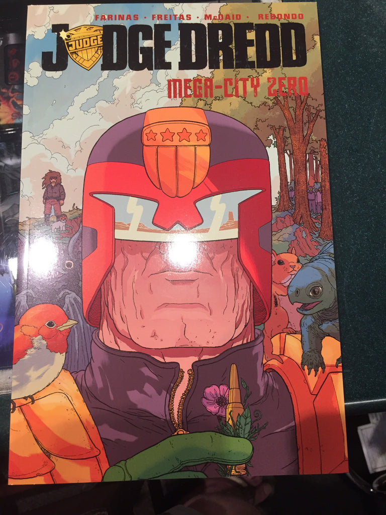 Judge Dredd Mega City Zero TPB