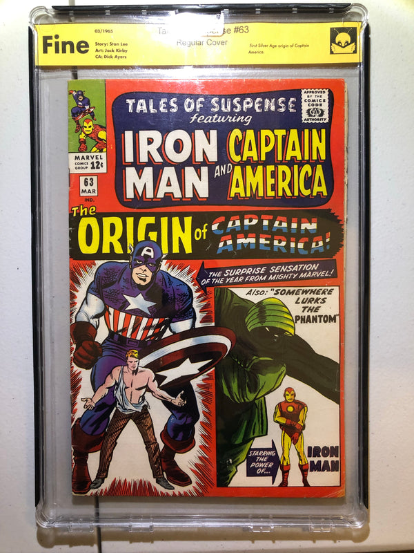 Tales of Suspense 63 Fine