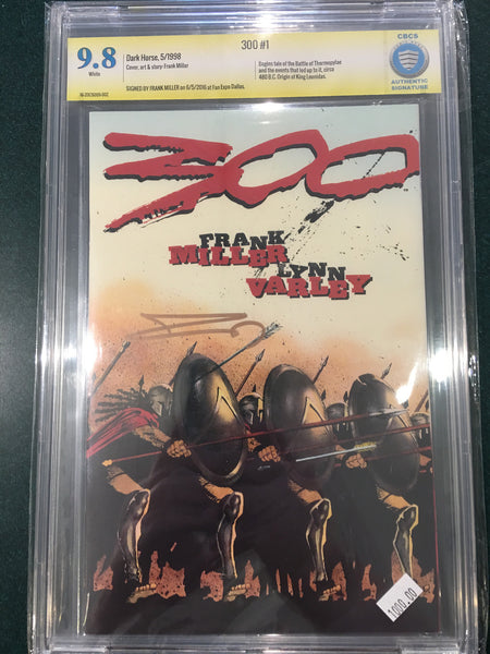 300 #1, CBCS 9.8, Signed