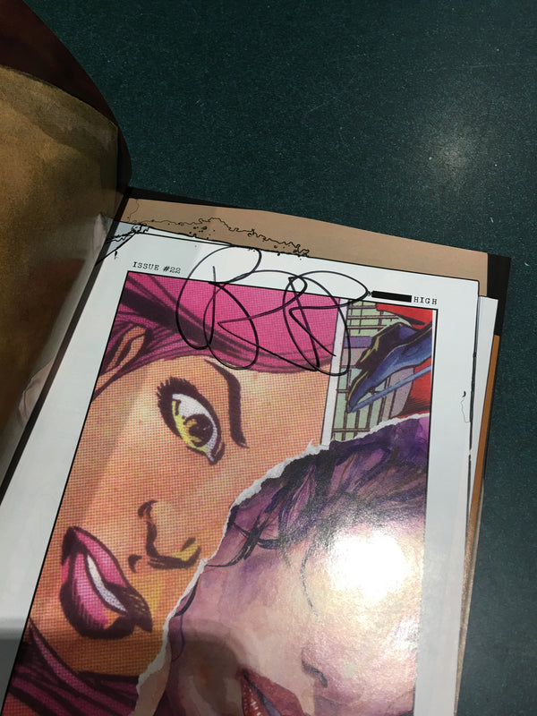 Alias (Jessica Jones) Vol 4, Signed