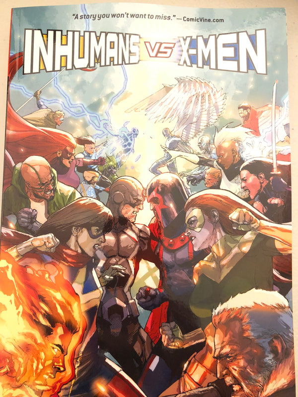Inhumans vs X-Men TPB (IVX)