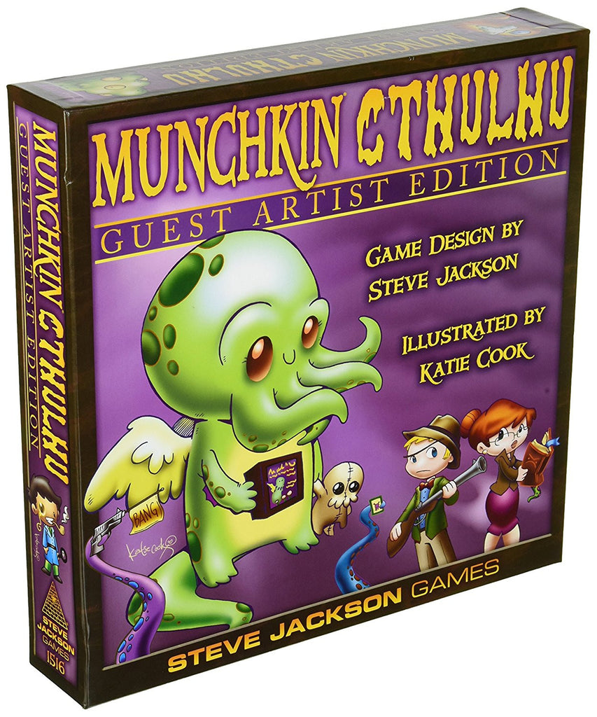 Munchkin Cthulhu Deluxe, Guest Artist Ed.