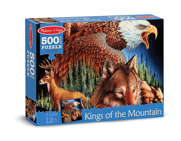 500 pc King of the Mountain Cardboard Jigsaw