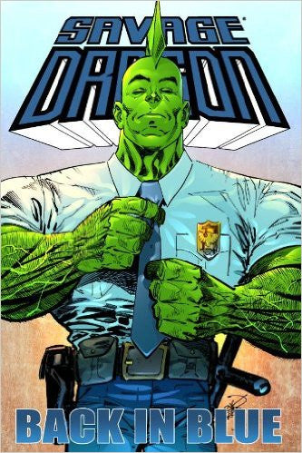 Savage Dragon TPB Back in Blue