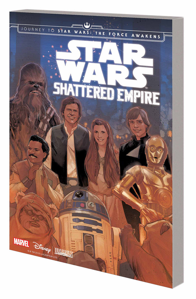 Shattered Empire Journey To Force Awakens Tpb Voyages Toys Comics