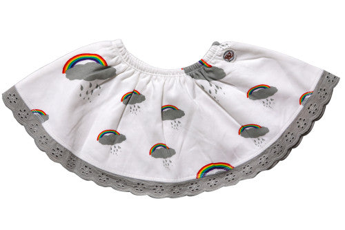 Peek a Boo Rainbow!!! Skirt