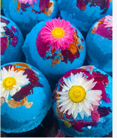 Moon Flower Bath Bomb