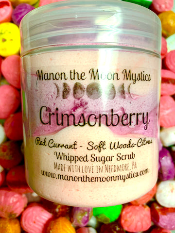 Crimsonberry Whipped Sugar Scrub