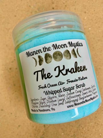 The Kraken Whipped Sugar Scrub